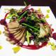 Салат из утиной грудки ресторан Аннам Брахма в Оренбурге