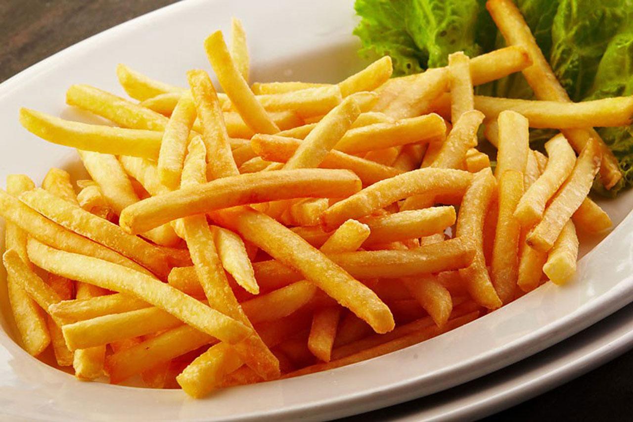 гарниры картофель фри ресторан Аннам Брахма в Оренбурге
