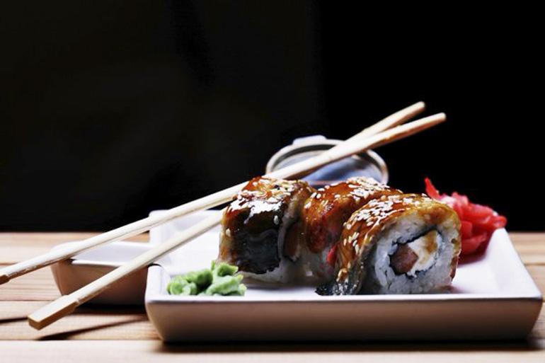 японская кухня в ресторане Аннам Брахма Оренбург
