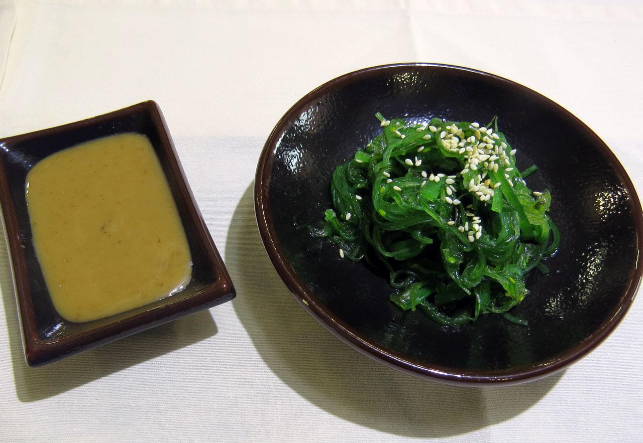 Кайсо сарада (Салат из морских водорослей) - ресторан Аннам Брахма в Оренбурге