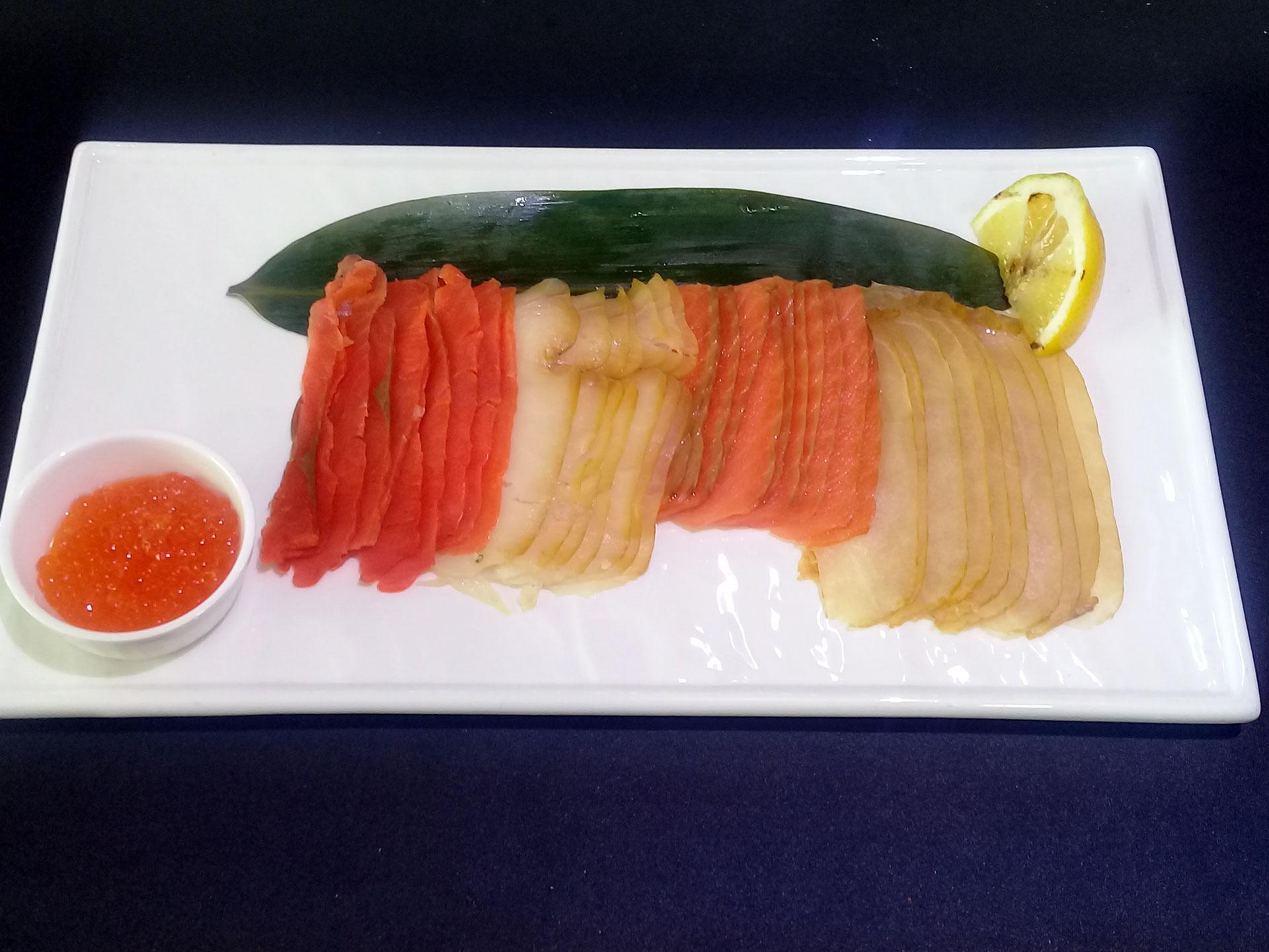 Рыбное ассорти - Пивной Ресторан Brugge в Оренбурге