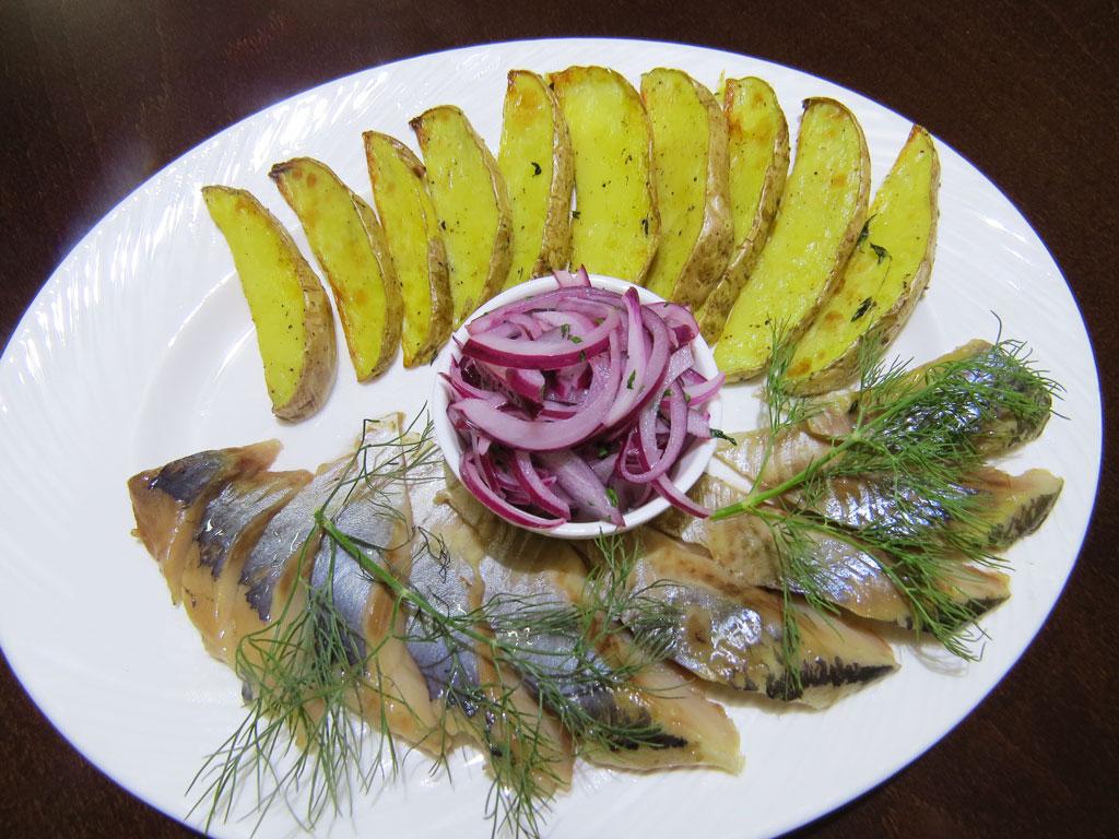Селедочка как впервый раз - в ресторане Аннам Брахма в Оренбурге