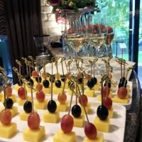 Закуски на свадьбе в ресторане Аннам Брахма в Оренбурге