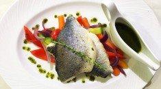 Рыба на пару в ресторане