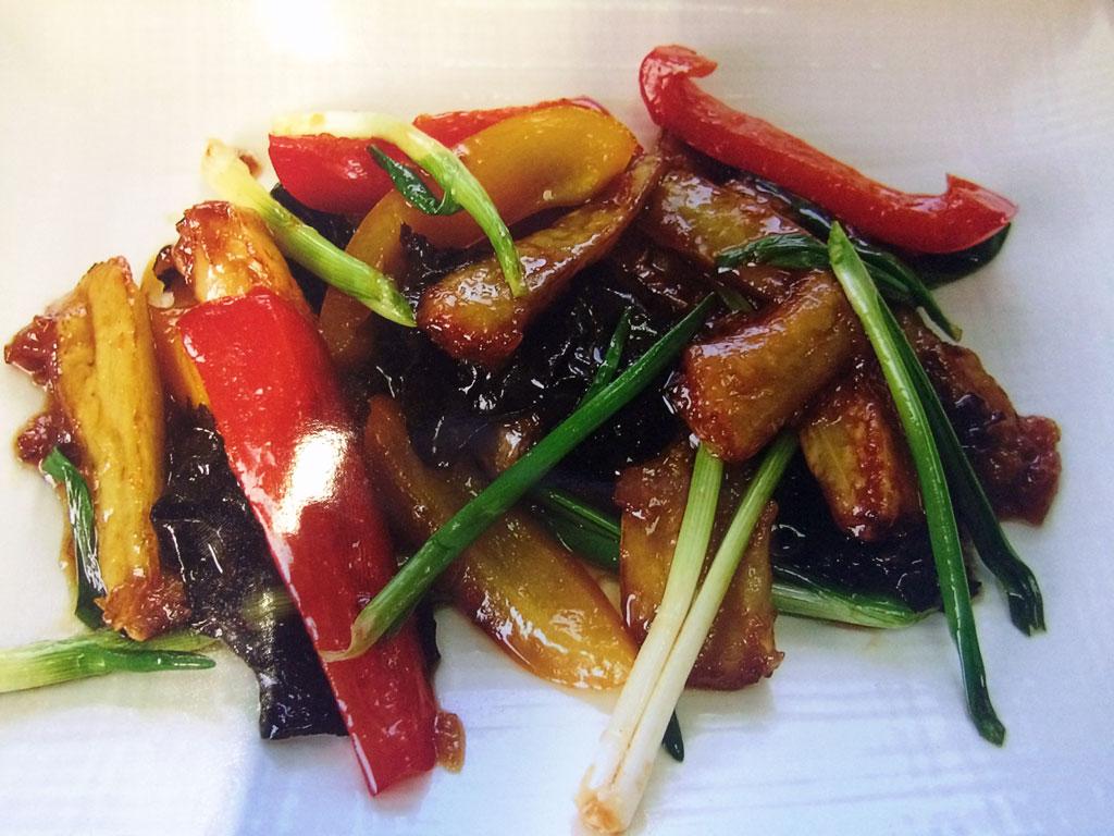 Баклажаны по-китайски - ресторан Аннам Брахма в Оренбурге