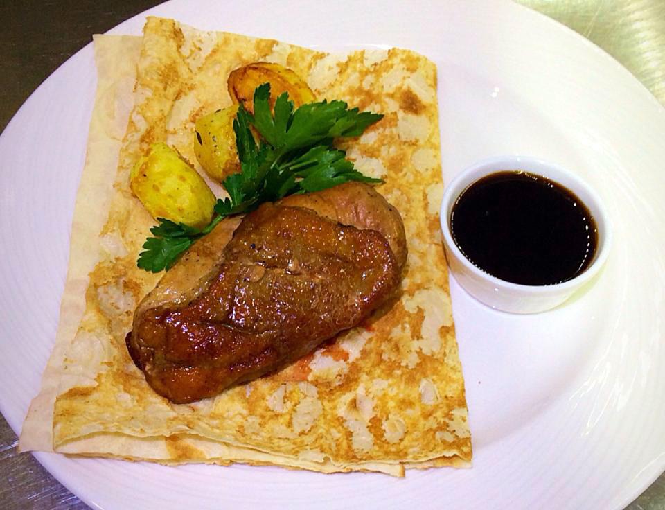 Шашлык из утиной грудки - ресторан Аннам Брахма в Оренбурге