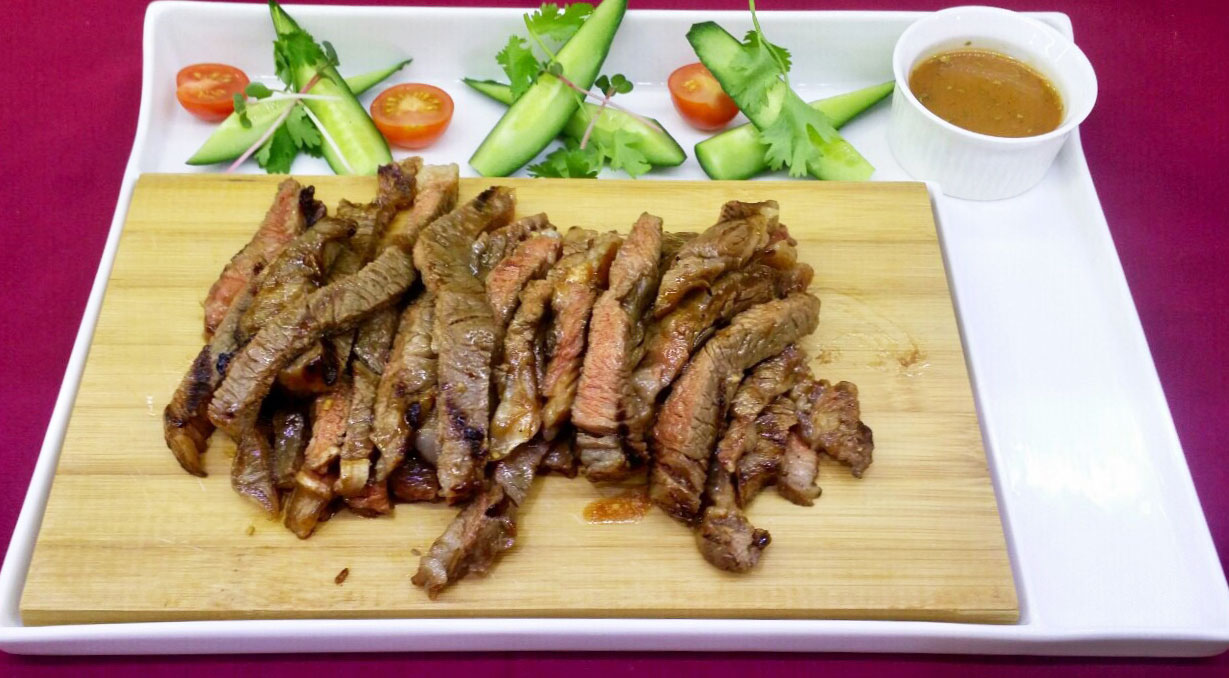Мраморная говядина по тайски - в ресторане Аннам Брахма в Оренбурге